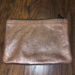 Rose Gold Marc Jacobs Pouch